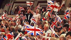 Last night of the proms Night Of The Proms, British Traditions, London Calling, Union Jack, 4th Of July Wreath, The Locals, Gentleman, Irish, Scene