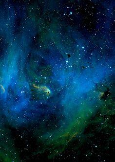 The Running Chicken Nebulain the constellation Centaurus