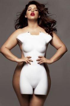 "The Shocking Truth About Plus Size Models // ""No one should be encouraged to starve themselves or hate their bodies because they don't match up to the unrealistic, photoshopped fictions that decorate our ads and tabloids. We would all do well to embrace a more realistic, natural, and positive attitude toward our bodies"""