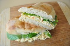 Smoked Salmon Egg Salad Sandwiches.