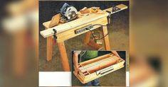 Portable Workbench Plans - Workshop Solutions Plans, Tips and Tricks   WoodArchivist.com