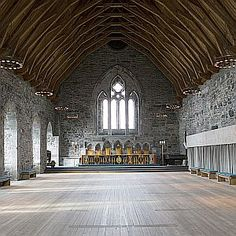 """Visit """"Håkon's Hall"""" - The King's banqueting hall.   This royal residence was built  by King Håkon Håkonsson 750 years ago, at the time when Bergen was the biggest city in Norway.     This museum is part of the Bergen City Museum and is open at 10:00 - 16:00, May 15. - August 31."""