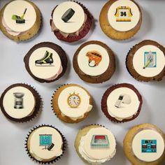 Cupcakes «sport» pour anniversaire ou événement sportif