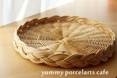 ランチ付き籐編みレッスン |yummy porcelarts cafe 大阪・池田市 ポーセラーツ・アイシングクッキー・籐編み教室