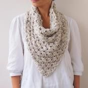 Triangle granny cowl  scarf neckwarmer - via @Craftsy