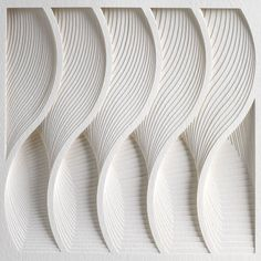 Matt Shlian: The Unconventional Artist and Paper Engineer Talks to Yatzer | WAVE (detail), from Process Series 2, 2013; paper 8  x 11 x 1/2 inches. Photo by Cullen Stephenson.