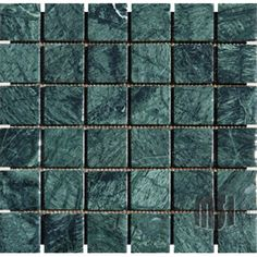 green marble mosaic tile sheet by MSI Stone