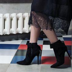 Sensual allure and a touch of sophistication! #regram @dariakunilovskaya #Ballin #BallinShoes #shoes #fashion #shoesoftheday