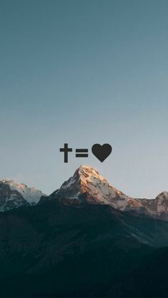 Cross Equals Love
