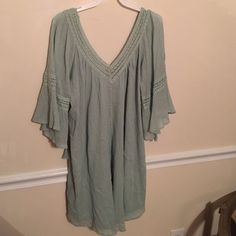 NWT Sage Dress New with tags never been worn. From boutique size large but can fit size medium Tinley Dresses