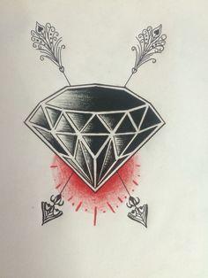 diamond in coal | Tattoo Ideas | Pinterest | Diamonds and Search