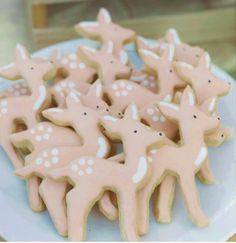 baby deer cookies