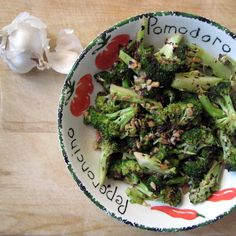 Italian Roasted Broccoli - absolutely delicious! :-D great flavorful recipe