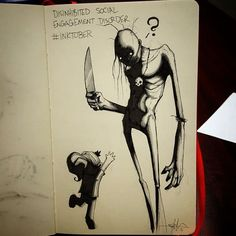 Artist depicts disorders