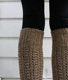 Ravelry: Long Walks legwarmers pattern by Dani Sunshine