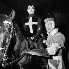 Rare Audrey Hepburn — The circus opening for Cerebral Palsy, a Benefit...