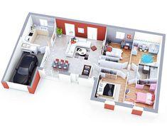 home layout plans 49047083425532461 - maison petit budget althen top duo Source by georgeandpapa Sims House Plans, House Layout Plans, Floor Plan Layout, Small House Plans, House Layouts, House Floor Plans, Modern Small House Design, Sims 4 House Design, Affordable House Plans