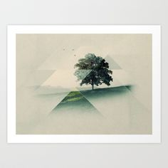 Buy Treeangle by Alyn Spiller as a high quality Art Print. Worldwide shipping available at Society6.com. Just one of millions of products available.