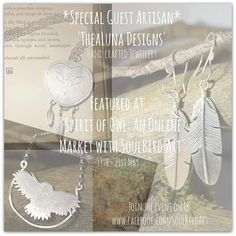 Remember my super secret project? I am so excited to announce that @soulbirdart has chosen me to be her guest artisan a very special owl themed market evening! Join the event in Facebook to receive exclusive updates #owlstagram #owls #owlsofinstagram #silver #silversmith