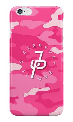 Jake Paul Bape Camo Pink 2 iphone case
