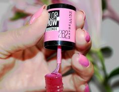 pink boom color show maybelline swatch du vernis de la gamme color show 60 - Vernis Color Show
