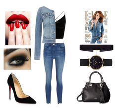 """""""Jeans'piration"""" by joanne-jkmn on Polyvore featuring Christian Louboutin, Vince Camuto, 8 Other Reasons, Abbott Lyon, Boohoo, Paige Denim and Dolce&Gabbana"""