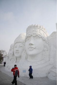 Snow Sculptures