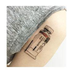 : paint tube illust Close up . . #tattooistbanul #tattoo #tattooing #design…