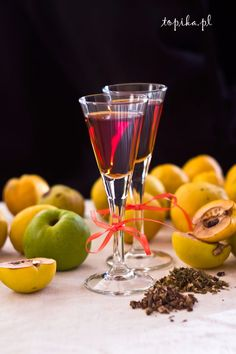 Quince and Orange Liqueur Cocktails, Cocktail Drinks, My Favorite Food, Favorite Recipes, Polish Recipes, Irish Cream, Lemonade, Smoothies, Beverages