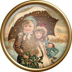 Старинные рождественские барды. Клипарт. Обсуждение на LiveInternet - Российский Сервис Онлайн-Дневников