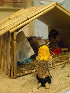 szopka Bożonarodzeniowa, stajenka, Jezus, Maryja, Józef, model, jak zrobć, Boże Narodzenie, Christmas, mój dom moja pasja.