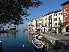 Lazise, Italy. Verona and Lake Garda it is all so beautiful,. And they have the BEST ice cream I have EVER tasted!!