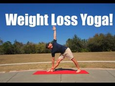 Weight Loss Yoga For Beginners - 10 minute Yoga Flow - YouTube