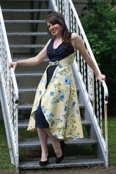 Beautiful Apron Dress, My favorite!!!