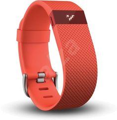 Fitness náramek Fitbit Charge HR Small Tangerine | Alza.cz