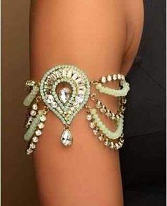 Beautiful upper arm bracelet.