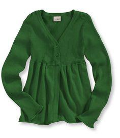 What a cute sweater (L.L.Bean).  Too bad it's a kid's sweater.
