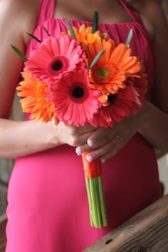 gerber daisies flower wedding