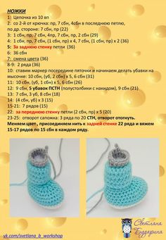 Вязаные мишки для дочки и сынишки Crochet Animal Amigurumi, Crochet Baby Toys, Crochet For Boys, Amigurumi Patterns, Crochet Hats, Crochet Animals, Crochet Sole, Crochet Slippers, Dress Sewing Tutorials