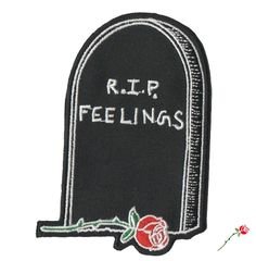 Image of RIP Feelings Patch