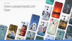 Lee Live Cases, nueva herramienta de Google para crear carcasas personalizadas para los Nexus