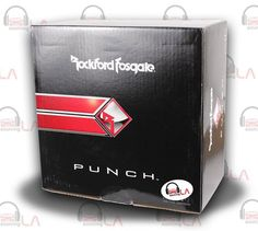 Sourcing-LA: ROCKFORD Fosgate > P3D412 (punch series) $139.95 ...