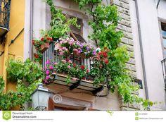 Italian balcony.