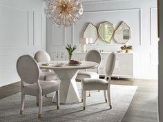 Love. Joy. Bliss.-Miranda Kerr Home Geranium Dining Table | Universal Furniture