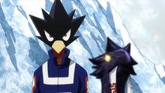 Tokoyami Fumikage & Dark Shadow    Boku no Hero Academia