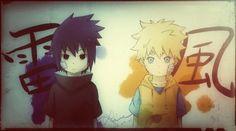 Sasuke and Naruto #Naruto