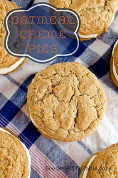 Oatmeal Creme Pies by Seeded at the Table, via Flickr