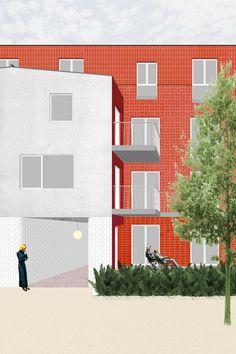 ectv - projecten: Sociaal woningbouwproject Herrystraat Deurne