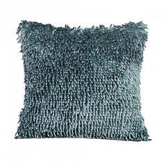 Dekoračný vankúš 40x40 cm Shaggy 1 (svetlo tyrkysový) Shaggy, Throw Pillows, Home, Toss Pillows, Cushions, Decorative Pillows, Decor Pillows, Scatter Cushions