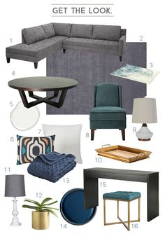 Style by Emily Henderson - Weekend Makeover  Mid-century Eclectic Artist